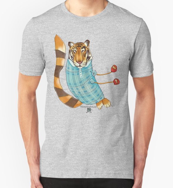 RedBubble: Tiger in Stripes