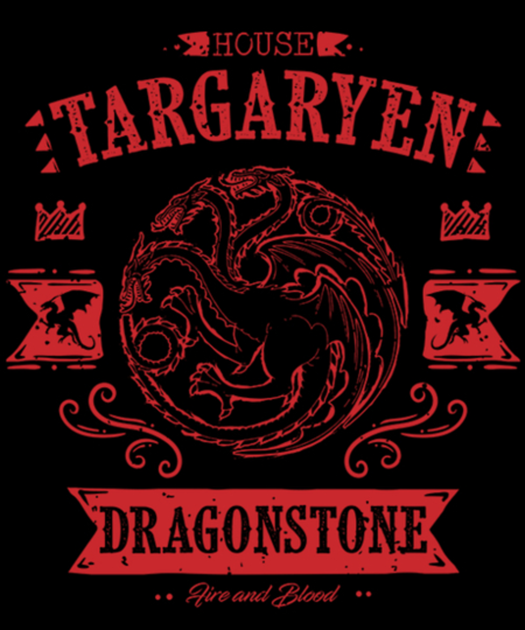 Qwertee: The Red Dragon