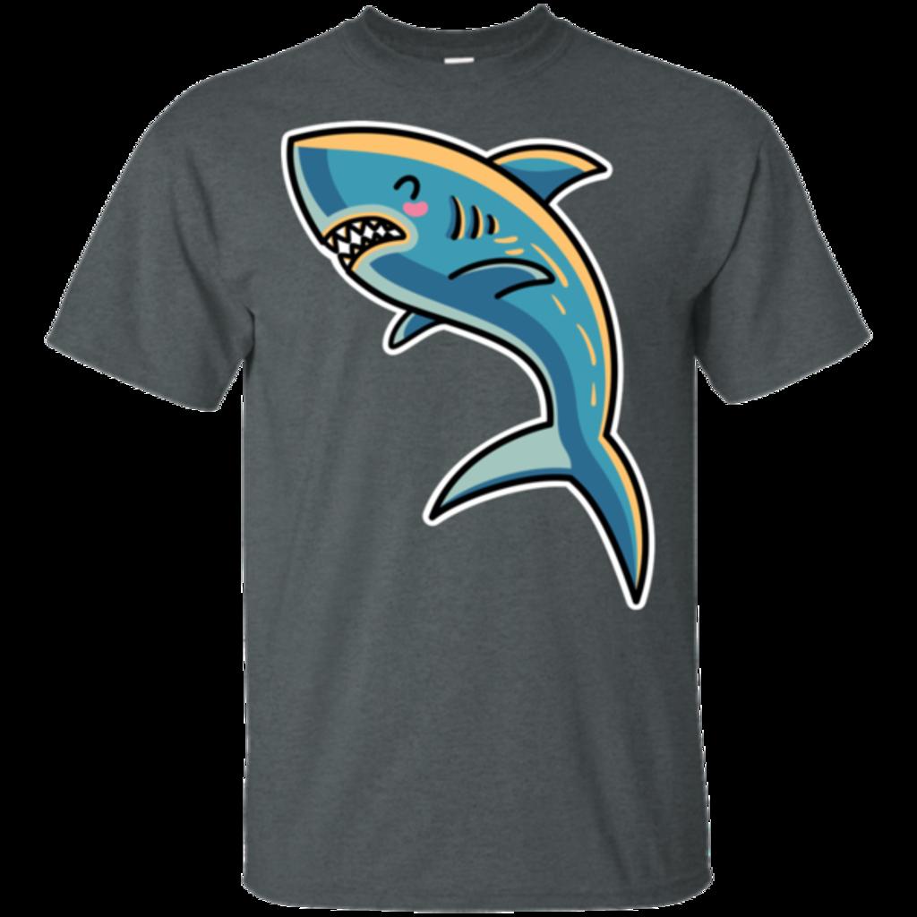 Pop-Up Tee: Kawaii Shark