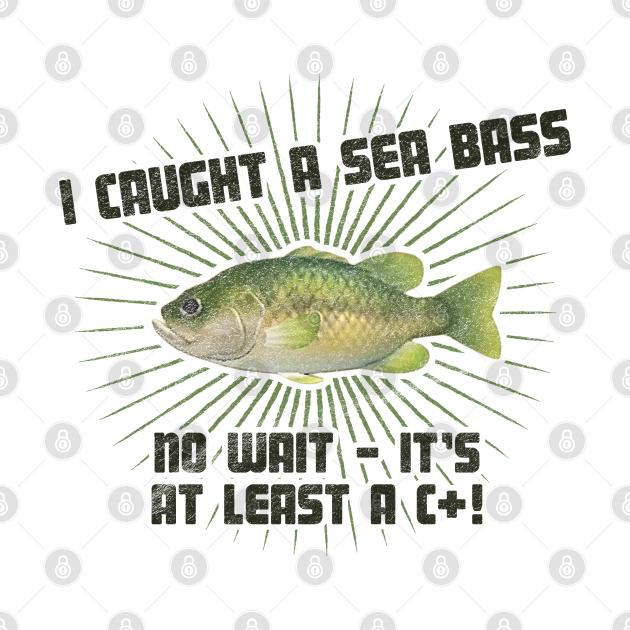 TeePublic: Animal Crossing - Sea Bass