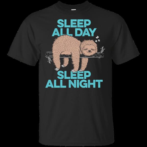 Pop-Up Tee: Sleep All Day All Night