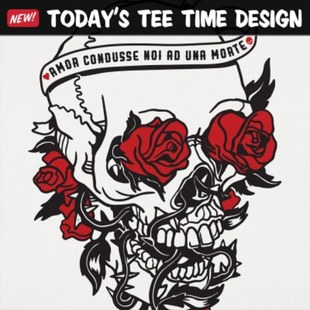 6 Dollar Shirts: Skull And Roses