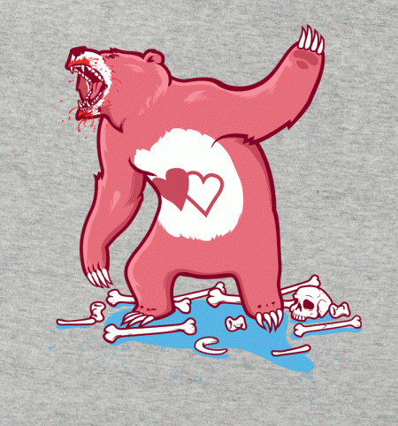 BustedTees: Terror Bear