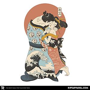 Ript: The Kiss Ukiyo-e