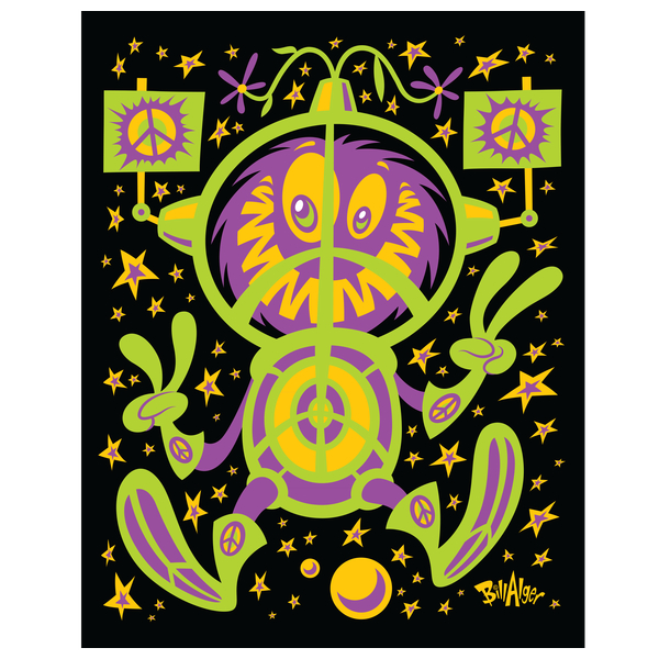 NeatoShop: Hippie Protest Monsters: In Space!