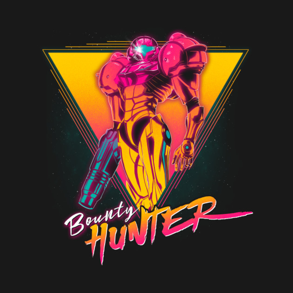TeePublic: Space Bounty Hunter