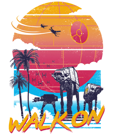 Qwertee: Walk On