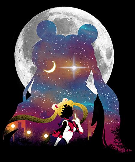 Qwertee: Legendary Moon Warrior