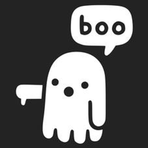 Textual Tees: Ghost Says Boo T-Shirt