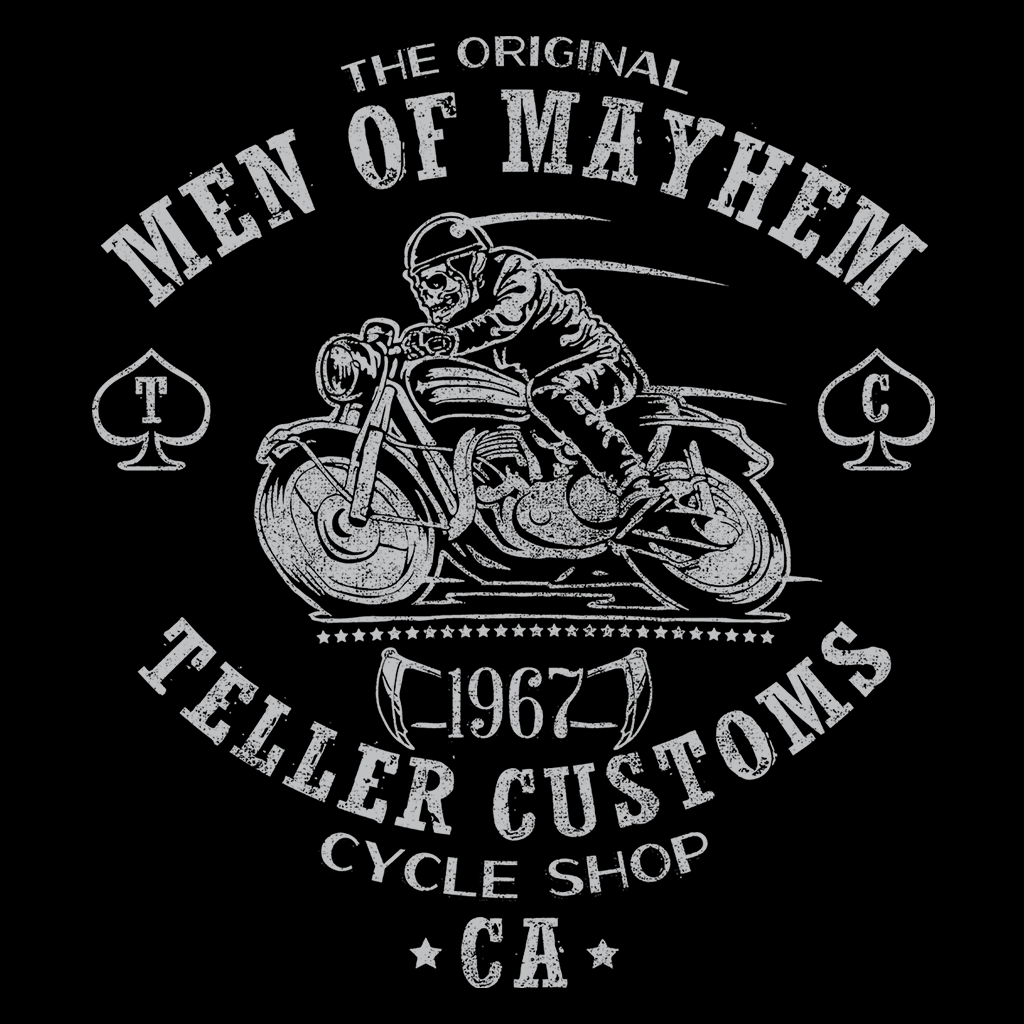Pop-Up Tee: Teller Customs