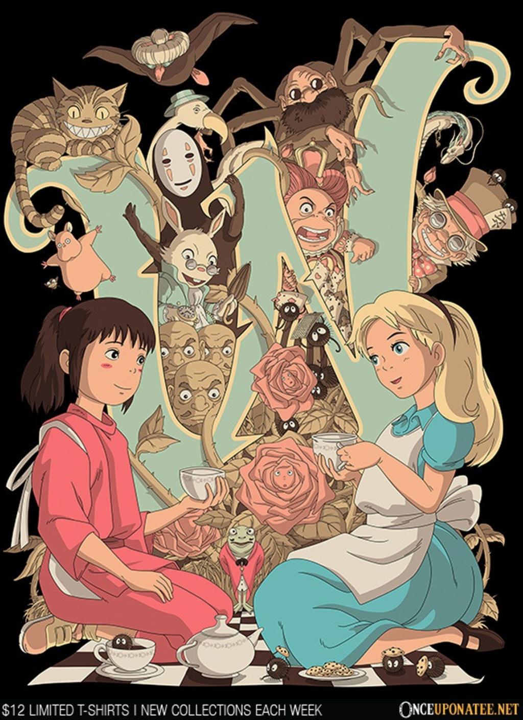 Once Upon a Tee: Wonderlands