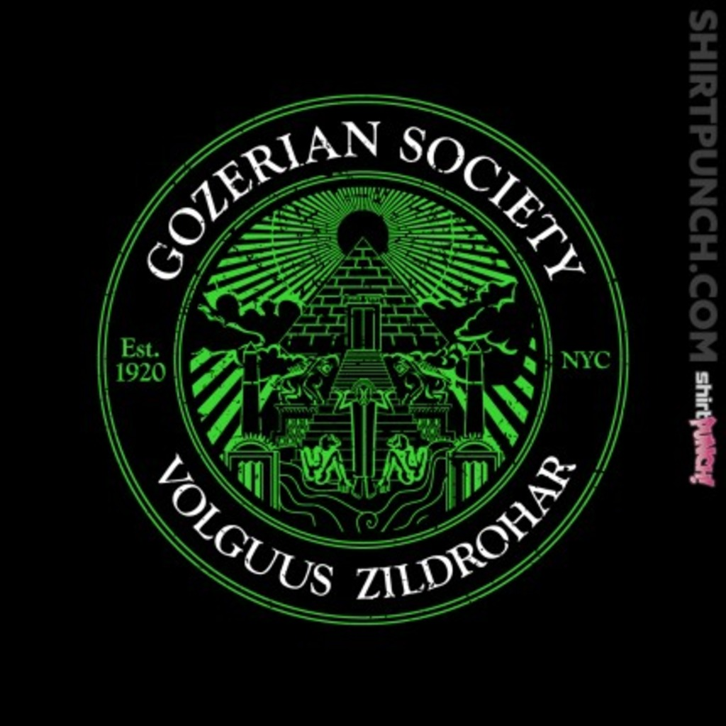 ShirtPunch: Gozerian Society