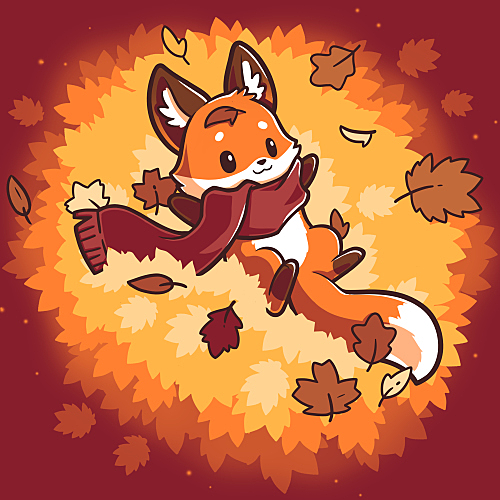 TeeTurtle: Autumn Fox