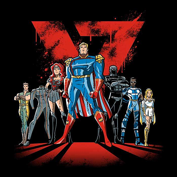 Once Upon a Tee: Supes League