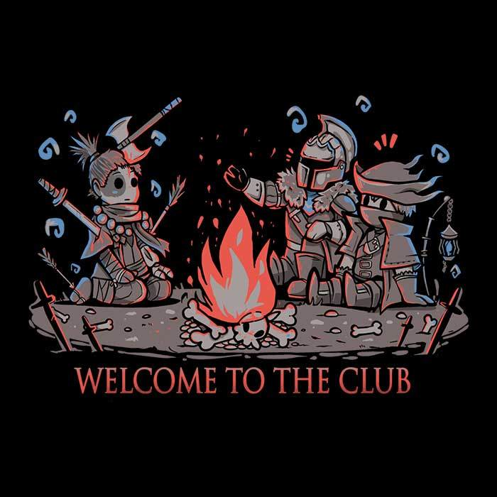 Once Upon a Tee: Welcome to the Club