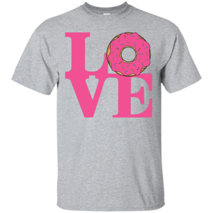Pop-Up Tee: Love Donut
