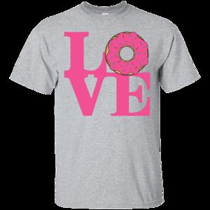 Pop-Up Tee: Love Donut