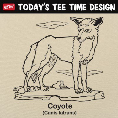 6 Dollar Shirts: Coyote