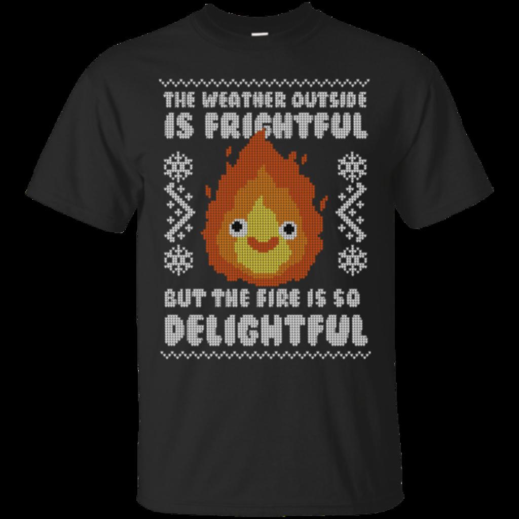 Pop-Up Tee: Delightful Fire