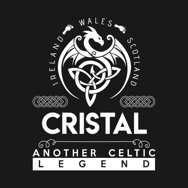TeePublic: Cristal Name T Shirt - Another Celtic Legend Cristal Dragon Gift Item