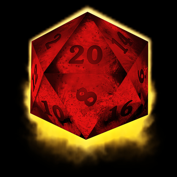 NeatoShop: Crystal d20 - red