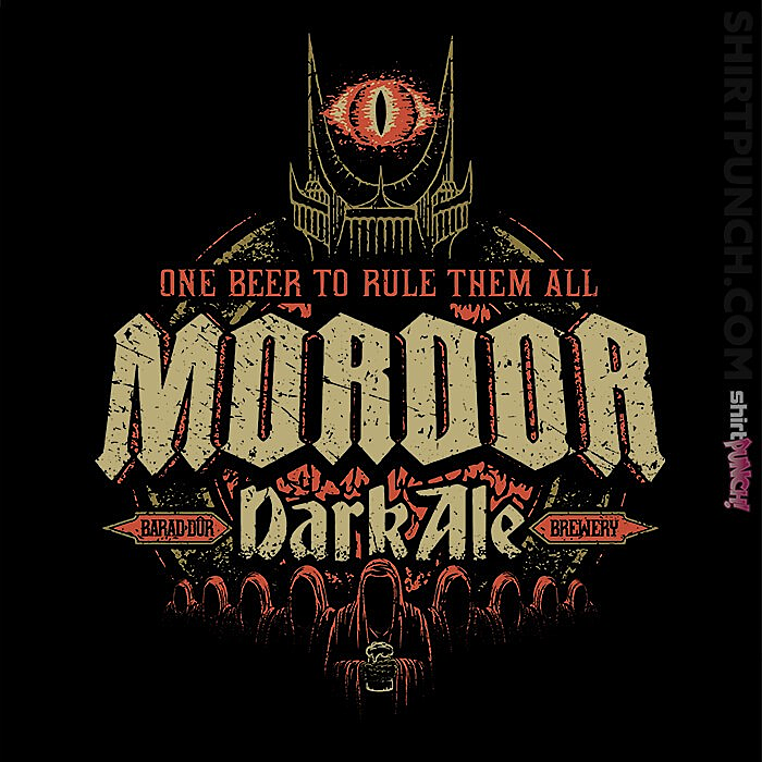 ShirtPunch: Mordor Dark Ale
