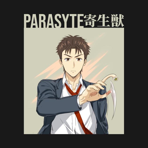 TeePublic: Shinichi Izumi Parasyte anime