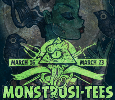 TeeFury: Monstrosi-tees Collection