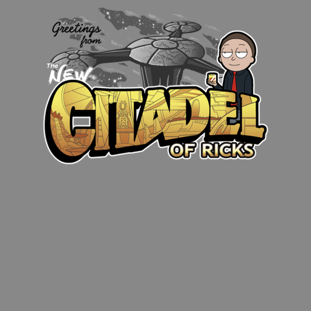 NeatoShop: New Citadel Postcard