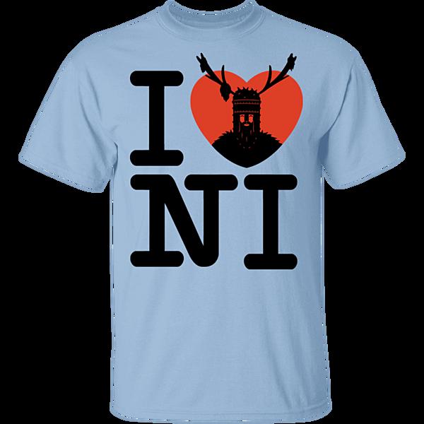 Pop-Up Tee: I Love NI