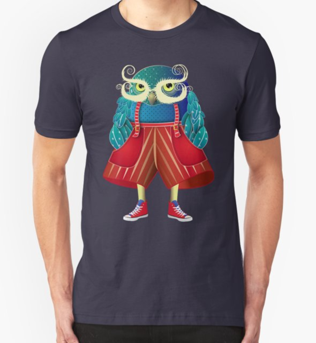 RedBubble: My Owl Red Pants