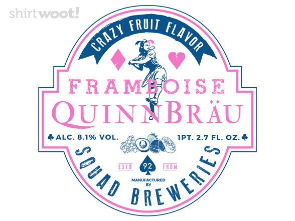 Woot!: QuinnBrau - Squad Breweries - $7.00 + $5 standard shipping