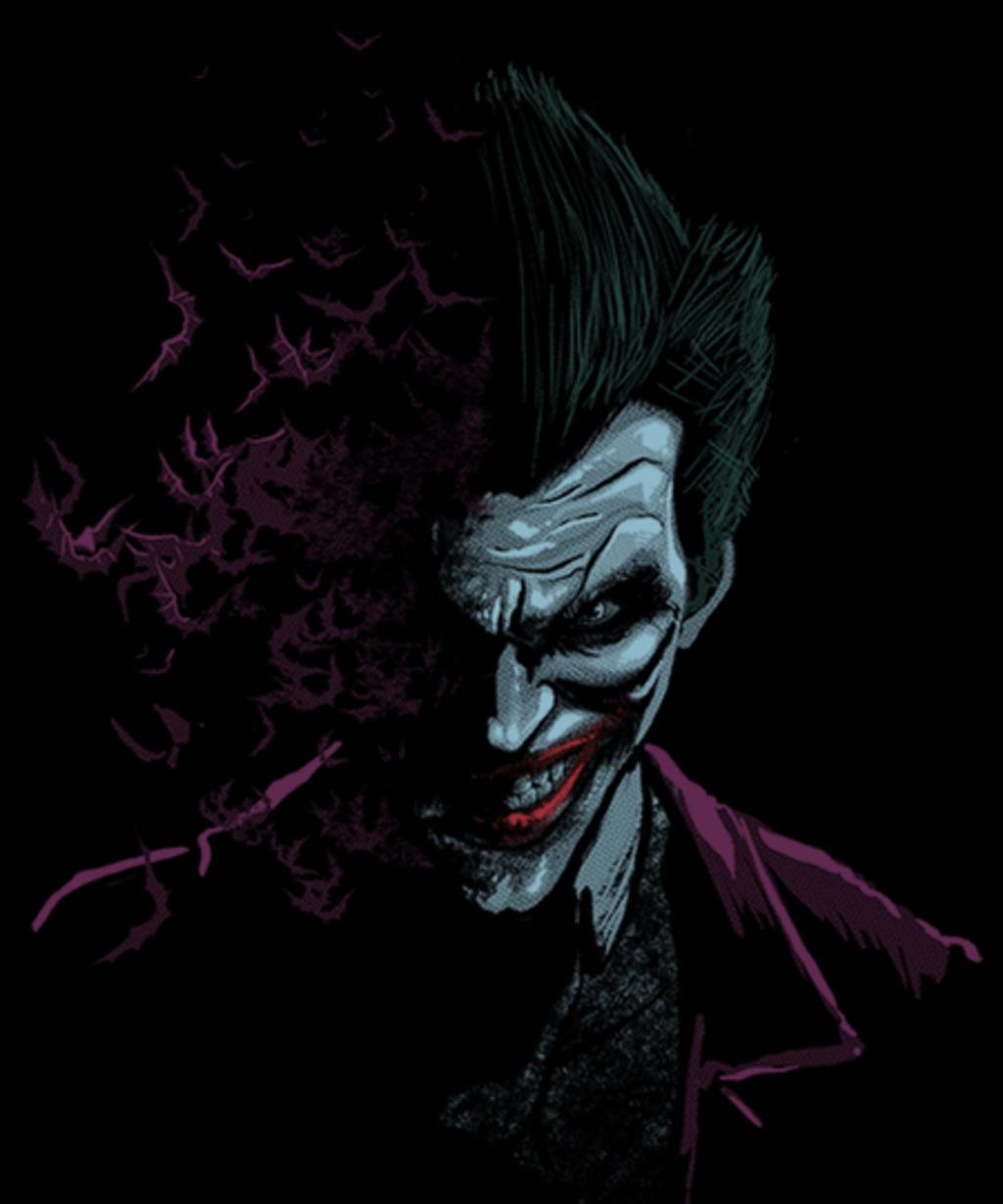 Qwertee: Arkham Joker