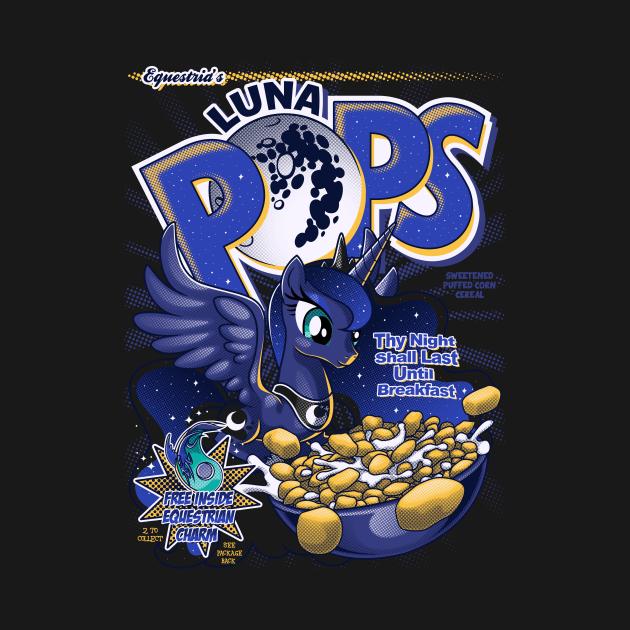 TeePublic: Equestria's Luna Pops