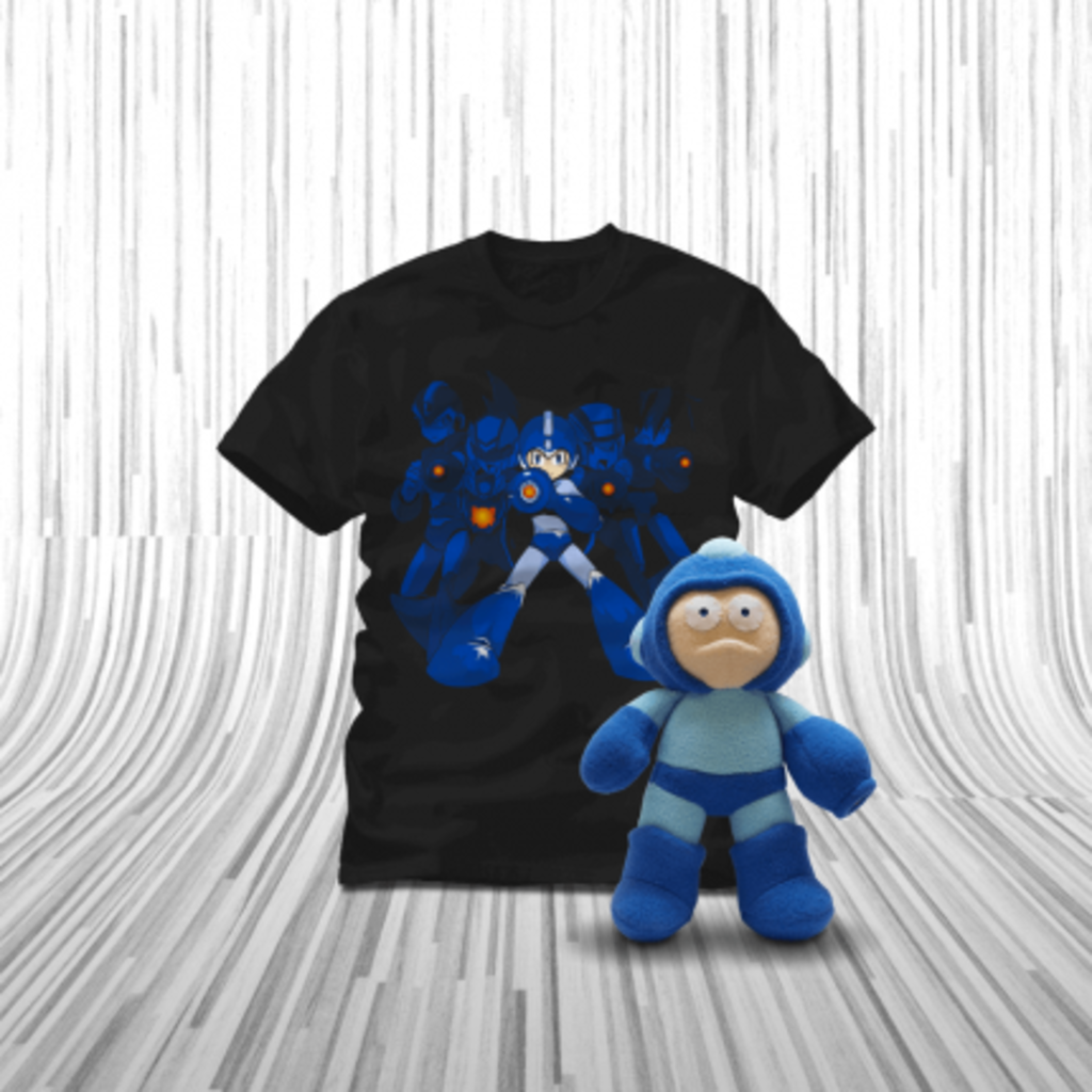 ShirtPunch: Mega Man Bundle