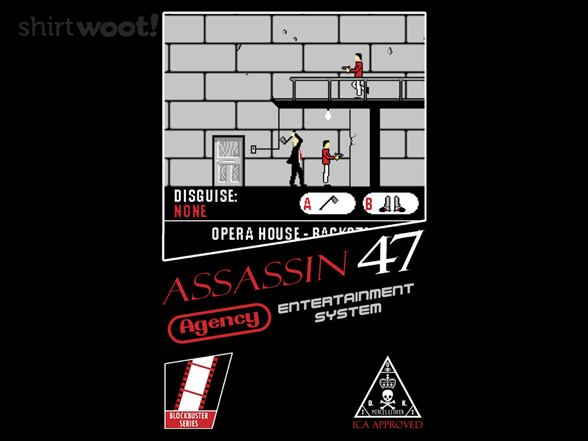 Woot!: Assassin 47 - $8.00 + $5 standard shipping