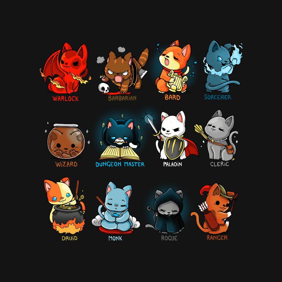 TeeFury: Kitten Role Play