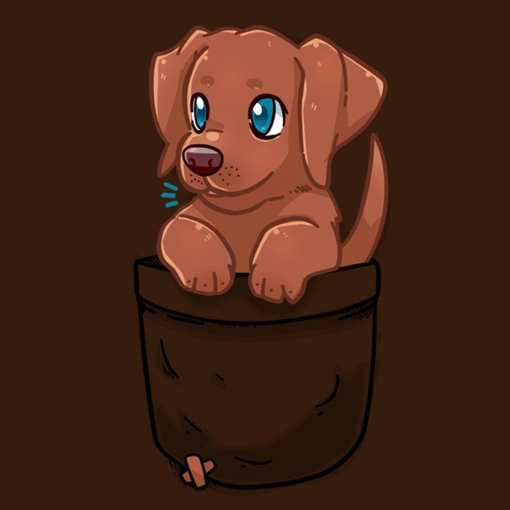NeatoShop: Pocket Cute Chocolate Labrador