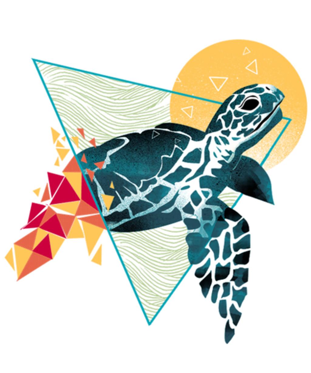 Qwertee: Geometric Turtle