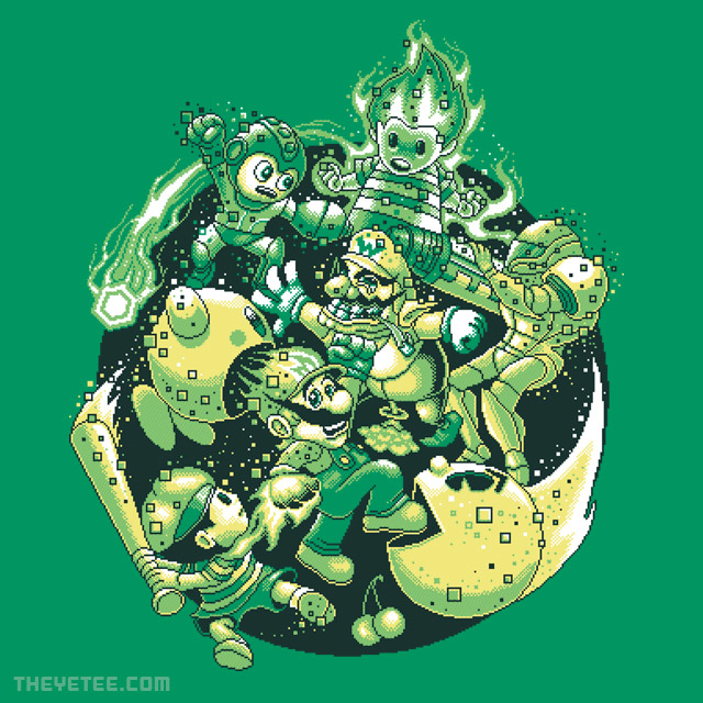 The Yetee: Smashed To Bits