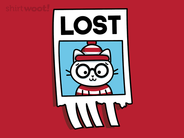 Woot!: Where's the Cat? - $8.00 + $5 standard shipping