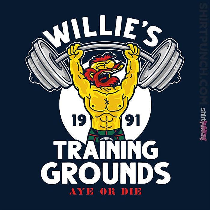 ShirtPunch: Willie's Training Grounds