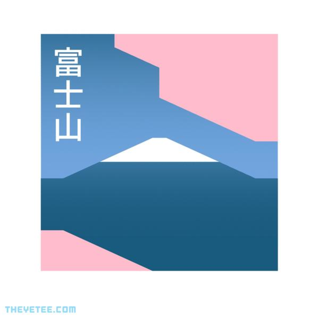 The Yetee: Fuji Mood