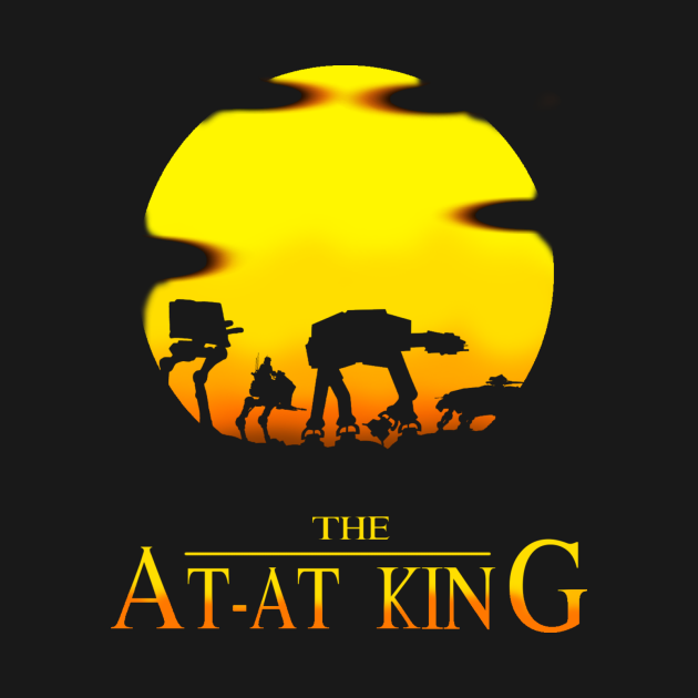 TeePublic: The At-At King