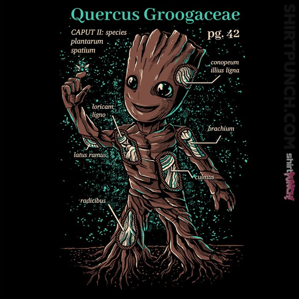 ShirtPunch: Baby Groot
