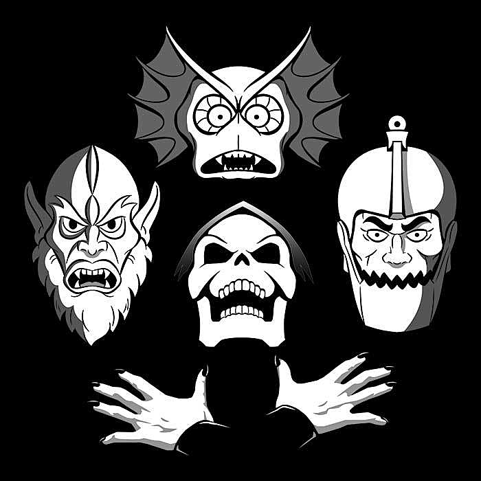 Once Upon a Tee: Bo-He-Man-ian Rhapsody
