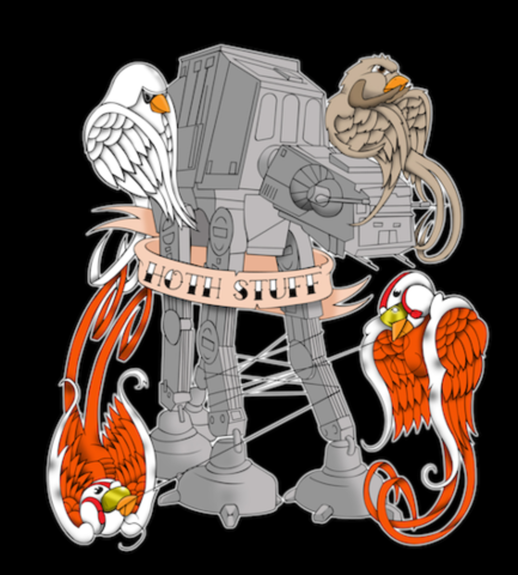 Shirt Battle: Hoth Stuff Tat