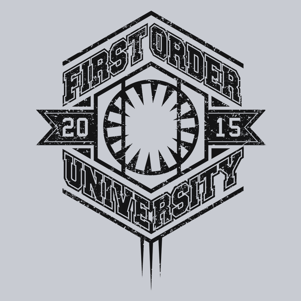 Pop-Up Tee: First Order University