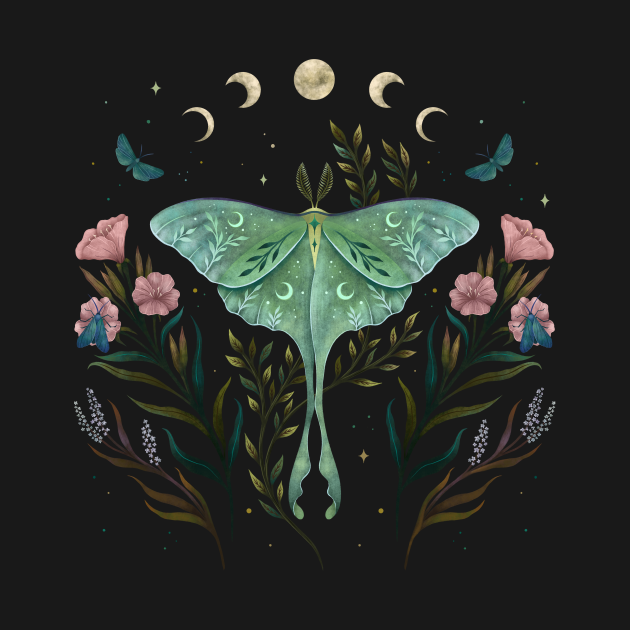 TeePublic: Luna and Forester