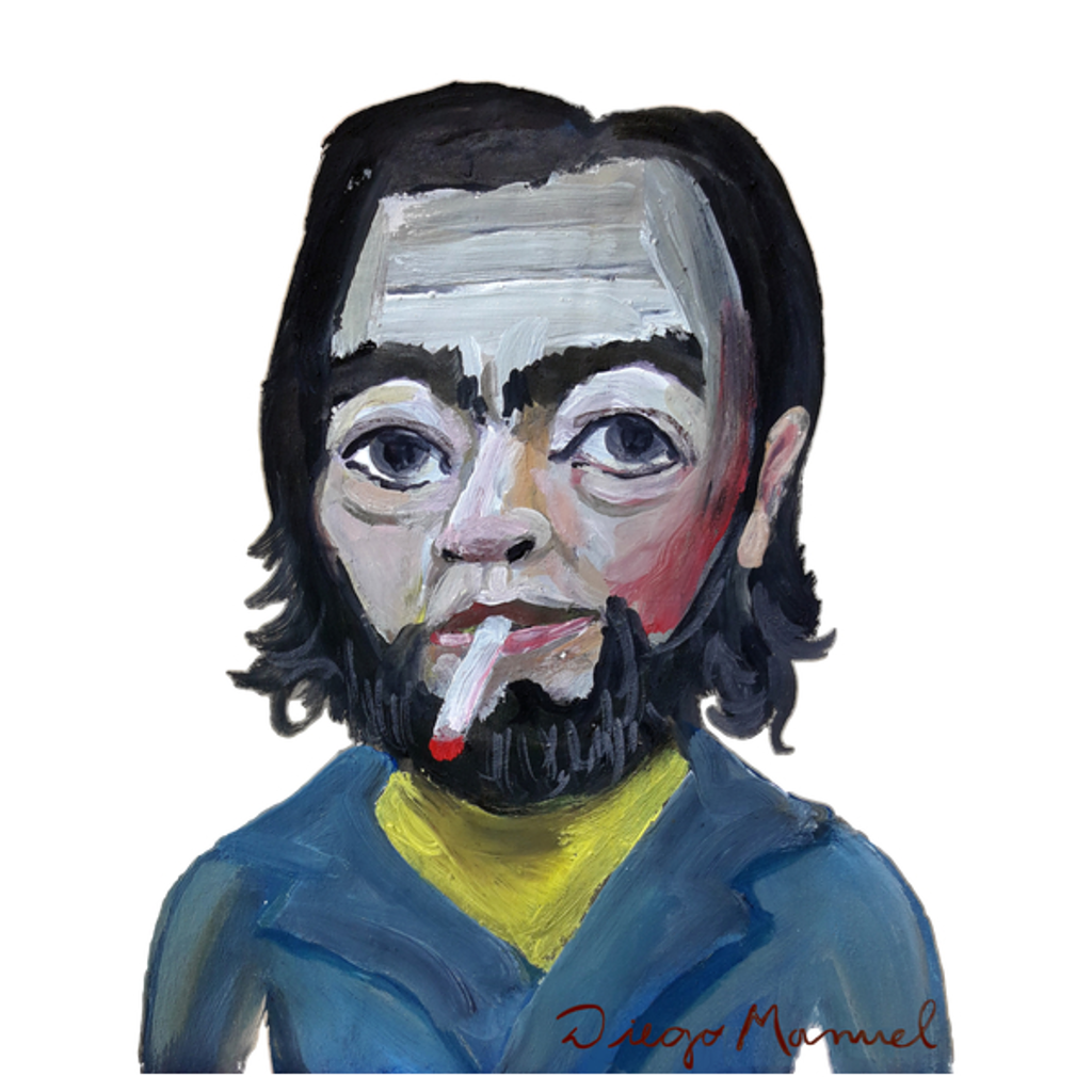 NeatoShop: Julio Cortázar portrait B